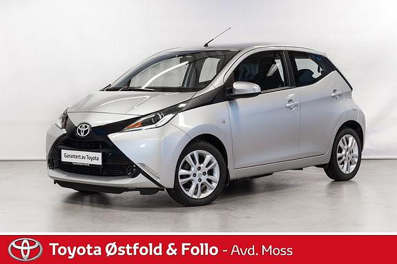 Toyota Aygo x 1,0 /SNERTEN BIL/DAB+  2016, 30400 km, kr 132000,-