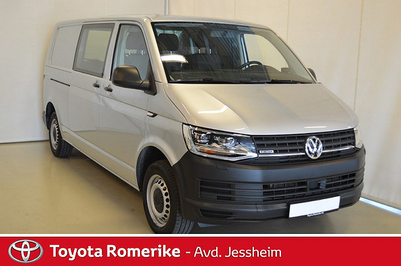 Volkswagen Transporter 2,0 TDI 150hk L m/vindu 4M DSG  2017, 27100 km, kr 359000,-