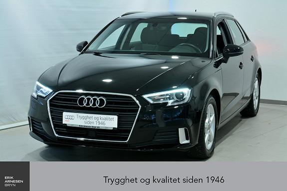 Audi A3 Sportback 1,0 TFSI 116hk Sport S tronic ÅPNINGSKAMPANJE  2017, 38500 km, kr 249000,-