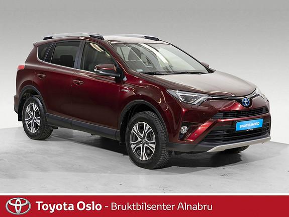 Toyota RAV4 Hybrid AWD 71n Edition Automat, Navi, DAB+  2018, 20920 km, kr 444900,-