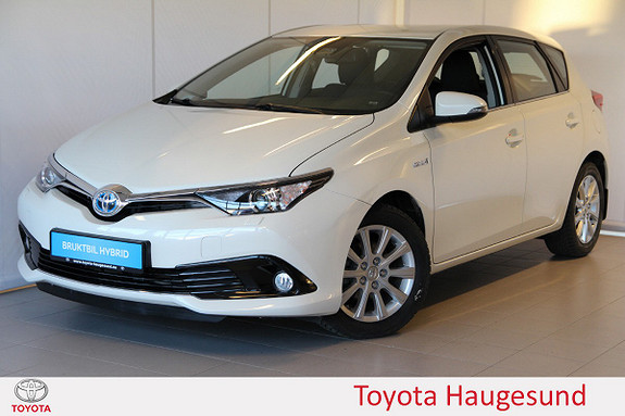 Toyota Auris 1,8 Hybrid E-CVT Active S Navi, DAB+, kamera, Tectyl  2016, 12516 km, kr 239000,-