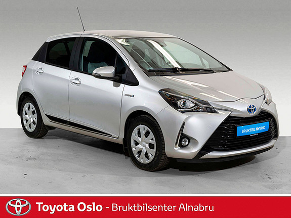 Toyota Yaris 1,5 Hybrid Active+ e-CVT aut Automat, Navi,  2018, 17443 km, kr 219900,-