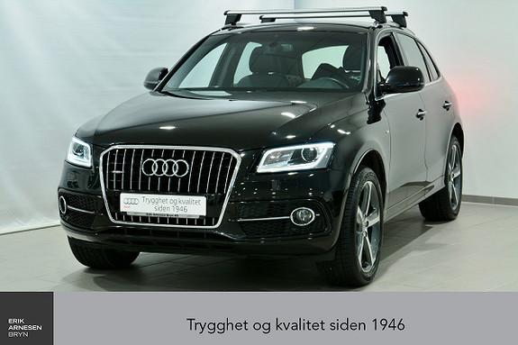 Audi Q5 2,0 TDI 163hk quattro S tronic ÅPNINGSKAMPANJE  2016, 26500 km, kr 459000,-