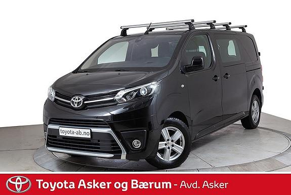 Toyota Proace 2,0 D 122 Comfort Plus L1H1  2017, 25200 km, kr 299000,-
