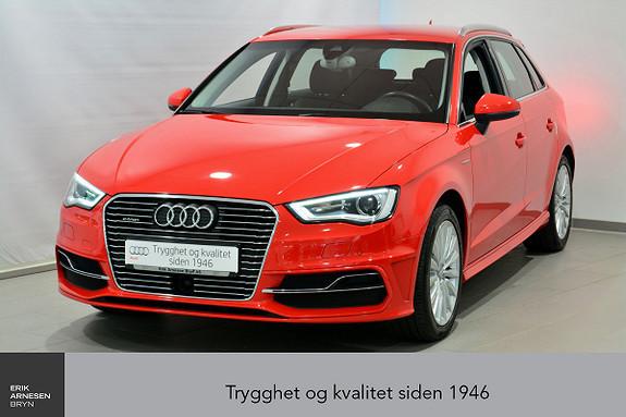 Audi A3 Sportback 1,4 TFSI  Ambition 15.000,- i rabatt  2015, 61800 km, kr 235000,-