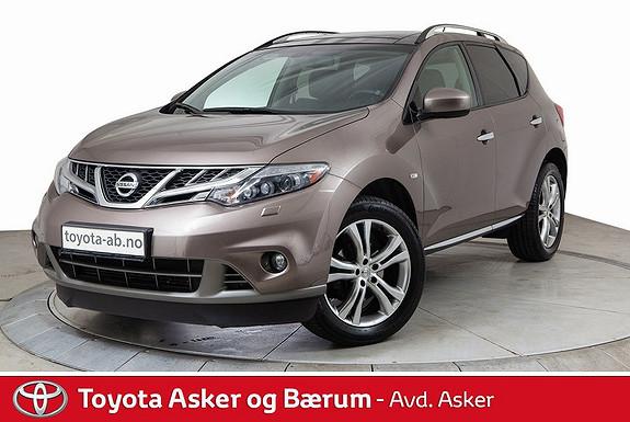 Nissan Murano 2,5 dCi DPF Tekna Pack Flott bil må ses  2012, 100100 km, kr 255000,-