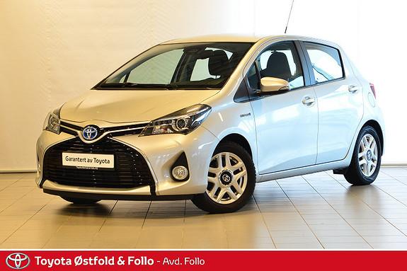Toyota Yaris 1,5 Hybrid Active S e-CVT  2016, 26661 km, kr 179000,-