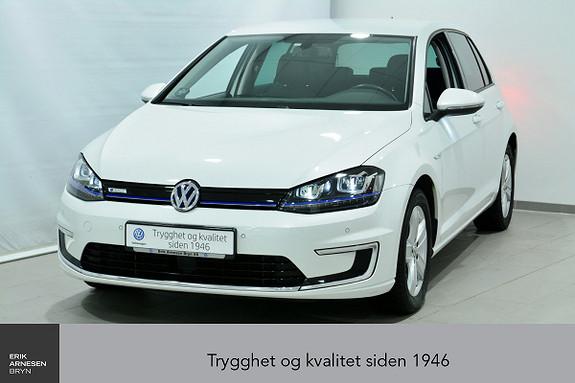 Volkswagen Golf E-GOLF 5D 115 HK ÅPNINGSKAMPANJE Skinn, LED, Navi, Varm  2016, 57100 km, kr 219000,-