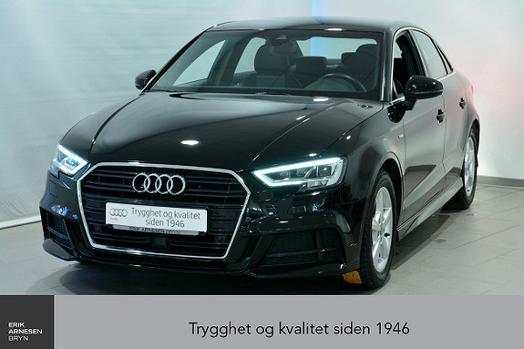 Audi A3 Sportsedan 1,4 TFSI 150hk Sport S tronic ÅPNINGKAMPANJE  2017, 22300 km, kr 379000,-