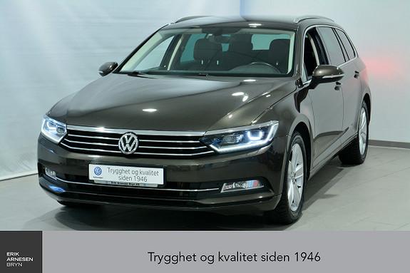 Volkswagen Passat 1,6 TDI 120hk Businessline DSG ÅPNINGSKAMPANJE  2016, 61200 km, kr 259000,-