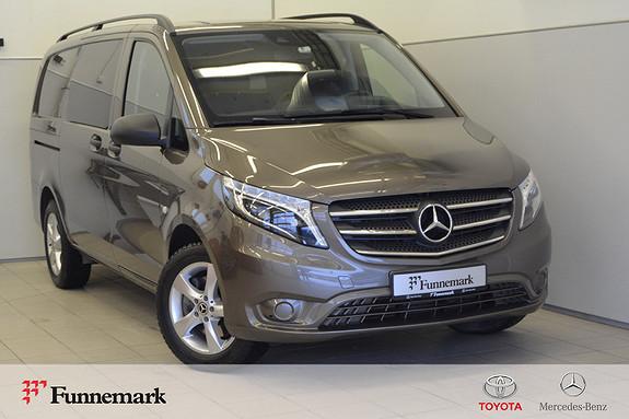 Mercedes-Benz Vito V119 A2 Entry 4matic aut MEGET VELHOLDT DEMOBIL SELGES  2018, 14000 km, kr 509000,-