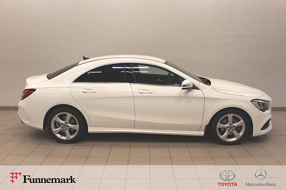 Mercedes-Benz CLA 180 AMG Edition aut 122hk (Ny bil!/ Velutstyrt!)  2019, 2000 km, kr 419000,-