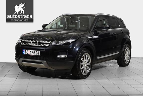 Land Rover Range Rover Evoque 2.2 TD4  Godt utstyrt bil