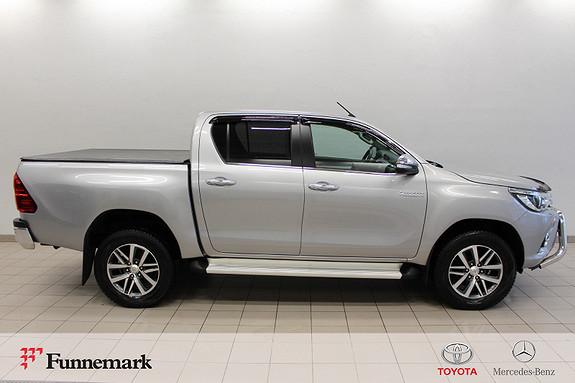 Toyota HiLux D-4D 150hk D-Cab 4WD SR+ aut (Toppmodellen!)  2016, 29000 km, kr 369000,-