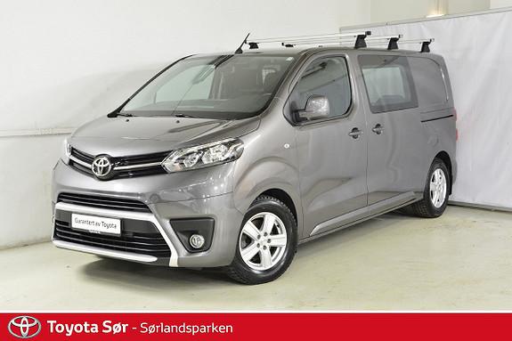Toyota Proace 1,6 D 115 Comfort Medium L1H1 m/takbøyler og hengerfest  2016, 31000 km, kr 239000,-