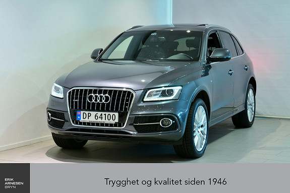 Audi Q5 2,0 TDI 190hk quattro S tronic ÅPNINGSKAMPANJE  2015, 61500 km, kr 429000,-