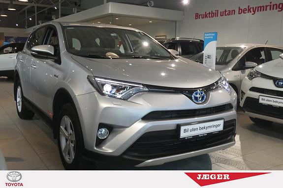 Toyota RAV4 Hybrid 4WD Life  2016, 52721 km, kr 369000,-