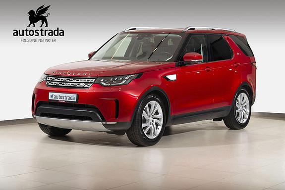 Land Rover Discovery 240hk Diesel Varebil HSE - Leasing mulig