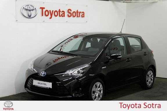 Toyota Yaris 1,5 Hybrid Active Go e-CVT aut Nybilgaranti  2017, 44964 km, kr 209000,-