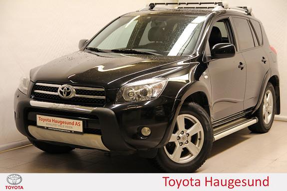 Toyota RAV4 2,2 D-4D 177hk X Skinn, navi, cruise, Bluetooth  2007, 210158 km, kr 129000,-