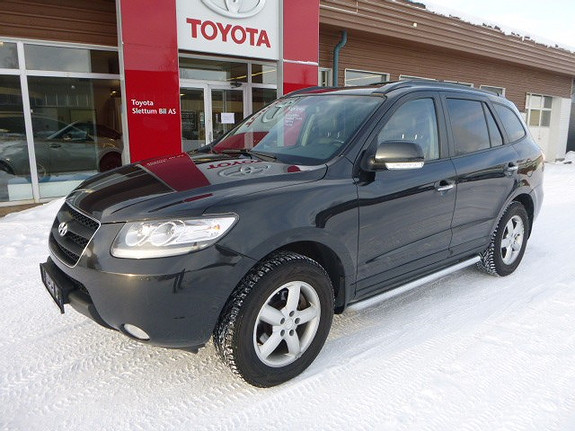 Hyundai Santa Fe 2,2 CRDI Premium 4WD AT  2009, 211336 km, kr 109000,-