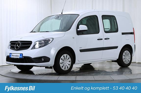 Mercedes-Benz Citan 109 CDI A2 DAB+ Bluetooth  2014, 27500 km, kr 149900,-