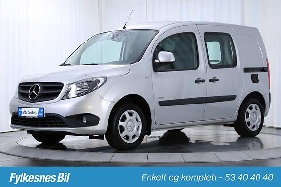 Mercedes-Benz Citan 109 CDI A2 DAB+, Hengerfeste, Isofix  2014, 25500 km, kr 149900,-