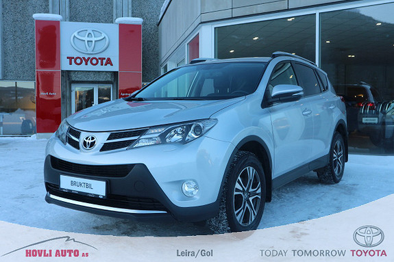 Toyota RAV4 2,0 D-4D 4WD Executive Dieselvarmer - Nybilgaranti 2020  2015, 90342 km, kr 299900,-