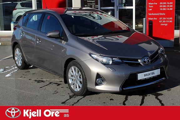 Toyota Auris 1,33 Dual VVT-i  Active m/ dab+, Navi ++  2014, 9594 km, kr 179000,-