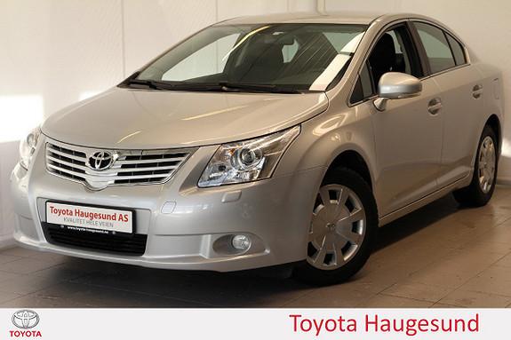 Toyota Avensis 1,6 132hk Advance Bluetooth, autoklima, tectylert  2010, 93041 km, kr 139000,-