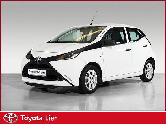 Toyota Aygo x 1,0 Liten bensingjerring bil  2014, 33770 km, kr 99000,-
