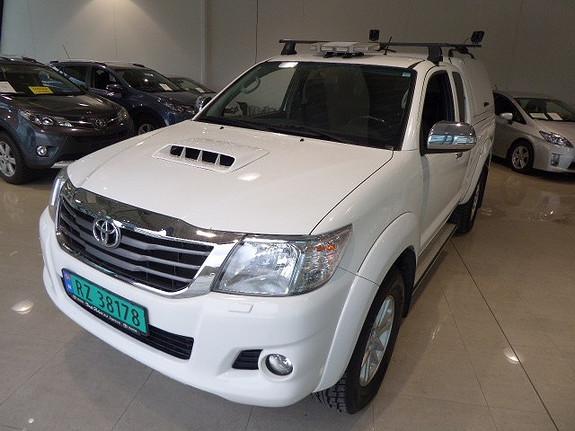 Toyota HiLux D-4D 144hk Extra Cab 4WD SR m/DAB+  2015, 80000 km, kr 289000,-