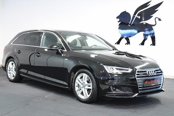 Audi A4 Quattro S Line Aut ACC LED Feste  2016, 53000 km, kr 499000,-