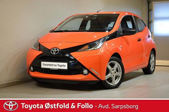 Toyota Aygo x-cite 1,0 , DAB+/KEY-LESS/R.KAMERA,  2015, 43400 km, kr 124000,-