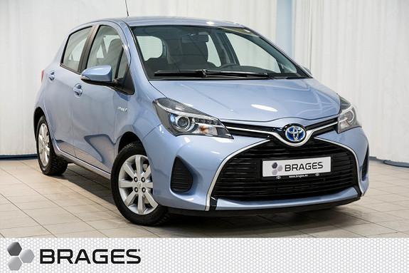 Toyota Yaris 1,5 Hybrid Active e-CVT Tectyl, Navi, Ryggekam, DAB+  2015, 13100 km, kr 175000,-