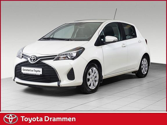 Toyota Yaris 1,33 Active S e-CVT Automat, DAB+ Lav km  2015, 34865 km, kr 169000,-