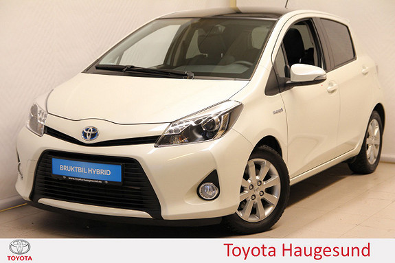 Toyota Yaris 1,5 Hybrid Style Glasstak, navi, kamera, B/T, Tectyl  2013, 28608 km, kr 165000,-
