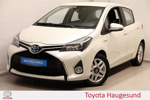 Toyota Yaris 1,5 Hybrid Active S e-CVT Navi, kamera, DAB+, Tectyl  2016, 17489 km, kr 189000,-