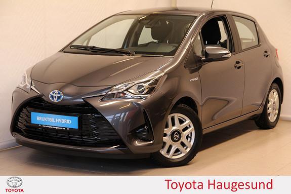 Toyota Yaris 1,5 Hybrid Active S e-CVT Navi, kamera, DAB+, Tectyl  2017, 216 km, kr 215000,-