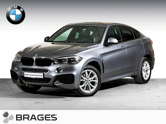 BMW X6 xDrive30d (258hk) Rå kjøremaskin - Må Oppleves!  2017, 3400 km, kr 919000,-