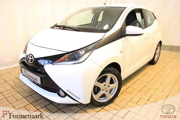 Toyota Aygo x-play 1,0  2014, 9802 km, kr 119000,-