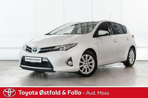 Toyota Auris 1,8 Hybrid E-CVT Active+ /GPS/DAB+/KOMPLETT SERVICE  2014, 58000 km, kr 185000,-