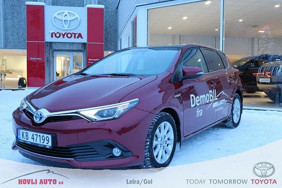 Toyota Auris 1,8 Hybrid E-CVT Style Edition BI-LED//Panorama//Demo  2017, 9850 km, kr 289900,-