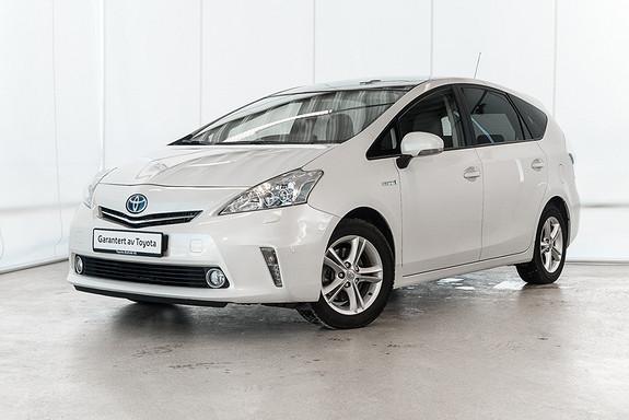 Toyota Prius 1,8 VVT-i Hybrid Premium /SKINN/DAB/KOMPLETT SERVICE  2013, 61470 km, kr 235000,-