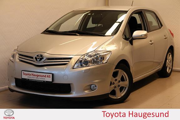 Toyota Auris 1,4 D-4D Silver-Edition Autoklima, AUX/USB, Tectyl  2012, 52494 km, kr 129000,-