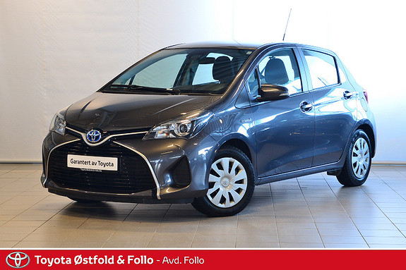 Toyota Yaris 1,5 Hybrid Active S e-CVT  2016, 44670 km, kr 179000,-