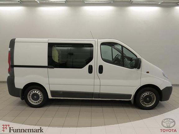 Opel Vivaro 2,0 CDTi (90hk) L1H1 m/innredning/ 3-seter/ Lav km!!  2009, 70000 km, kr 69000,-