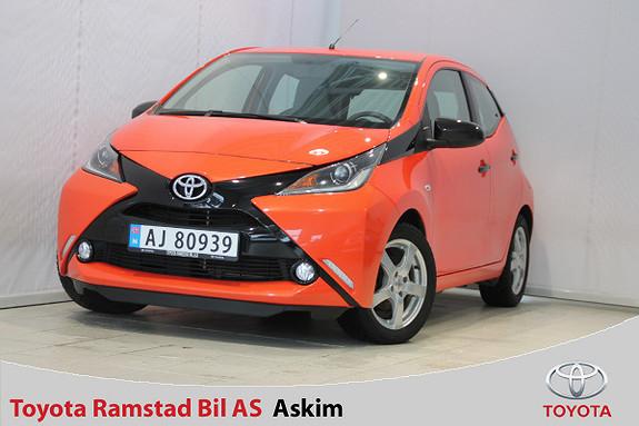 Toyota Aygo x-cite 1,0  2014, 45300 km, kr 119000,-