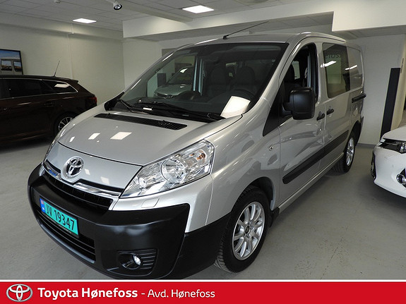 Toyota Proace 2,0 128hk L1H1 (m/bakluke)  2014, 108000 km, kr 139000,-