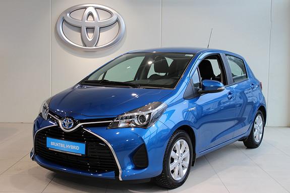 Toyota Yaris 1.5 Hybrid Active m/Navi&Cruise  2015, 48753 km, kr 184000,-